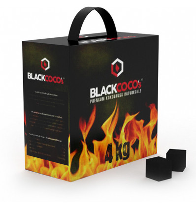 Carbón Black Coco`s 4Kg